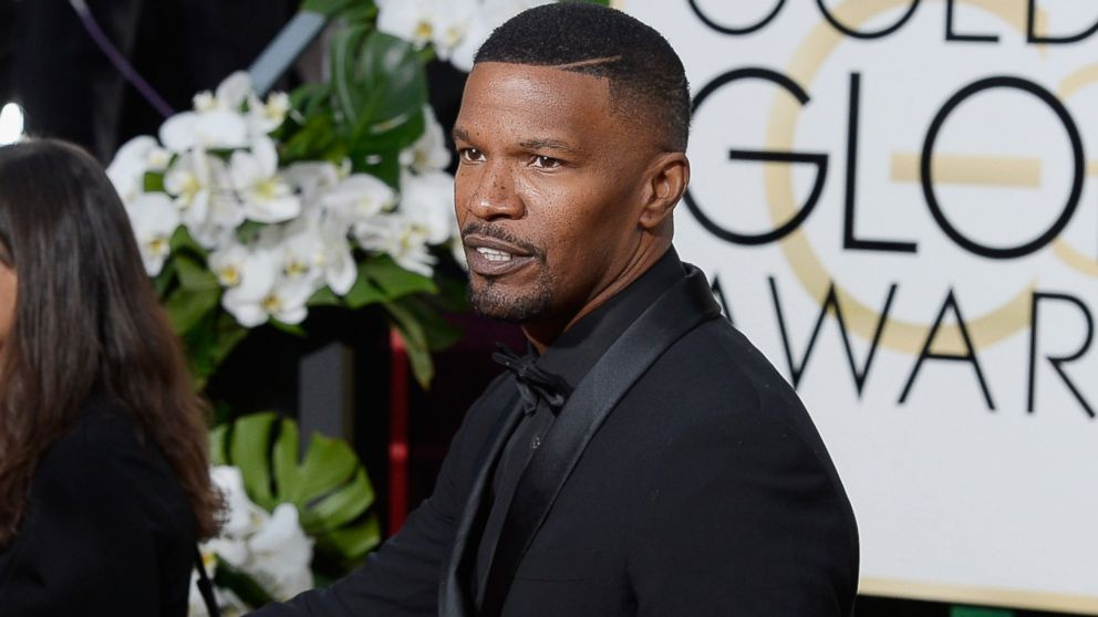 Golden Globes 2016 Jamie Foxx Mimics Steve Harvey S Miss