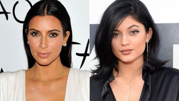 Kim v Kylie - the Battle of the Kardashian Lips