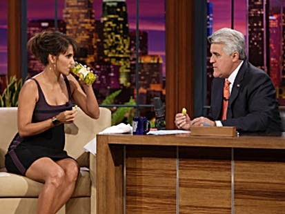 halle berry on jay leno