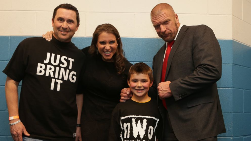 Wrestling Star Triple H Breaks Character to Console Young ...