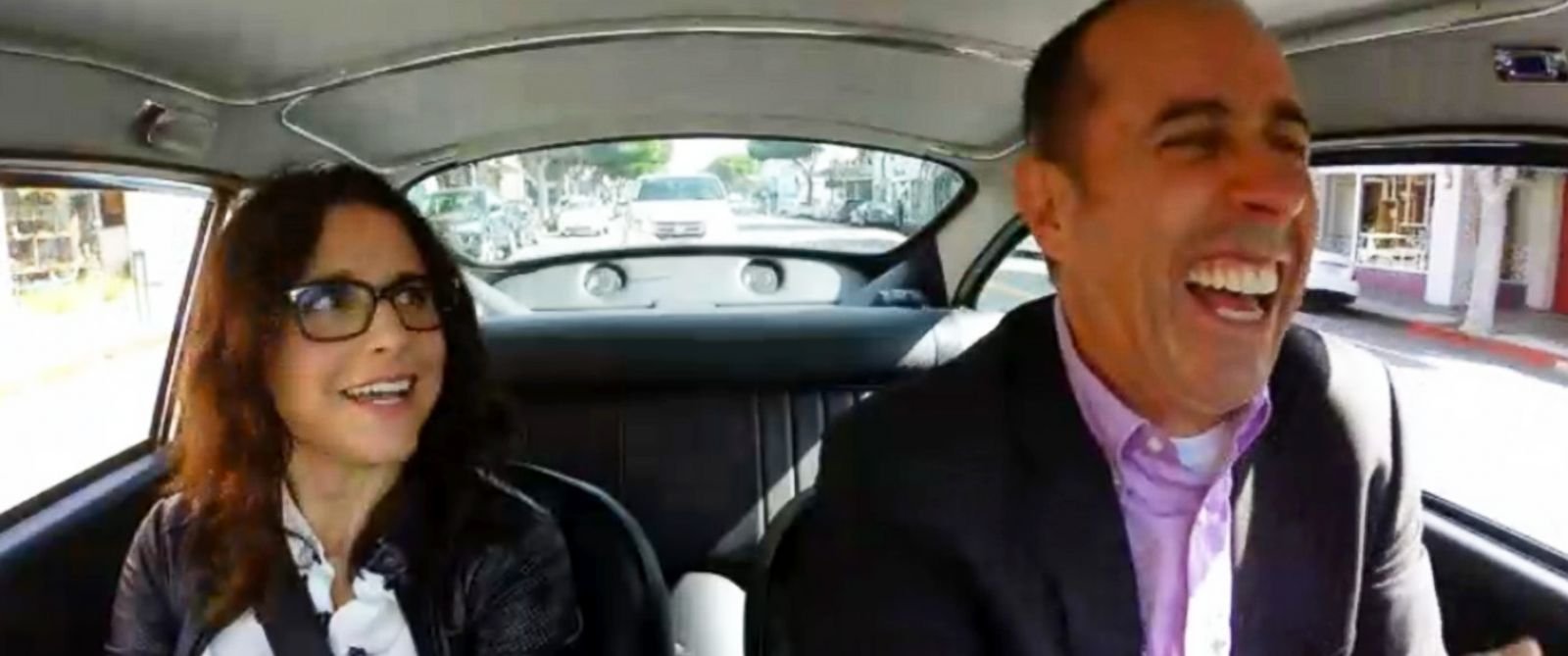 jerry seinfeld and elaine reunite for 39 comedians in cars getting coffee 39 abc news. Black Bedroom Furniture Sets. Home Design Ideas