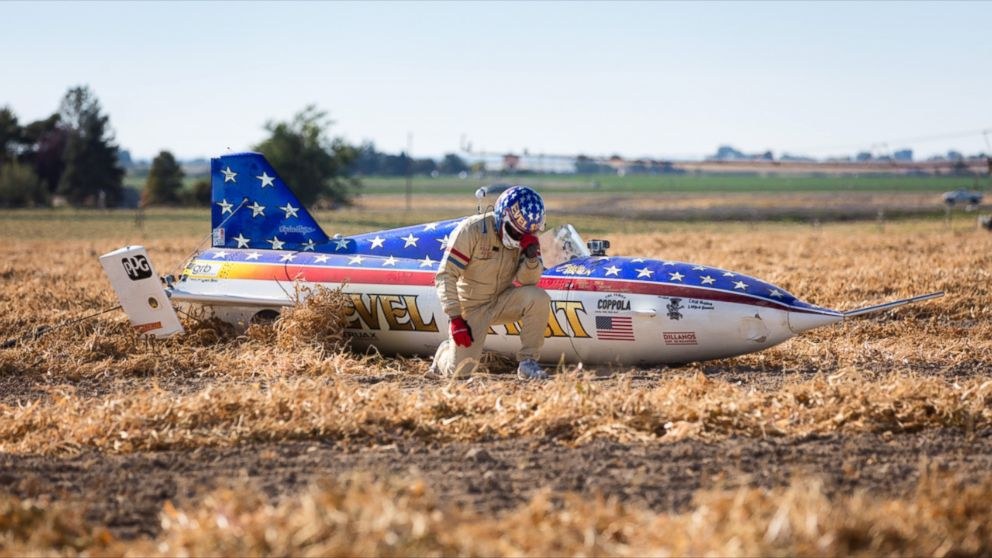Murdercycles Evel Has Jumped The Shark: Stuntman Eddie Braun 'Truly Proud' Of Completing Evel