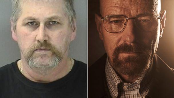 Walter White arrested for dealing Meth (lol) - NeoGAF