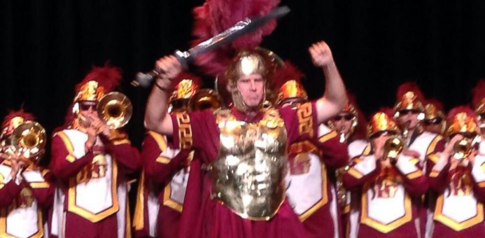 Watch Will Ferrell Lead The USC Marching Band