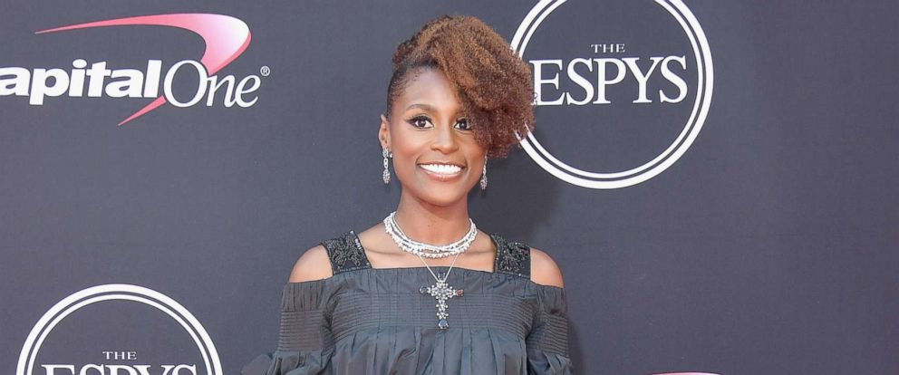 PHOTO: Actor Issa Rae attends The 2017 ESPYS at Microsoft Theater, July 12, 2017, in Los Angeles.