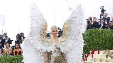 The behind-the-scenes Met Gala scoop on Katy Perry's wings, Rihanna's 'papal tiara' and Madonna's performance