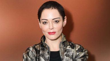 Rose McGowan on Harvey Weinstein: 'I have a visceral need for him to have handcuffs on'