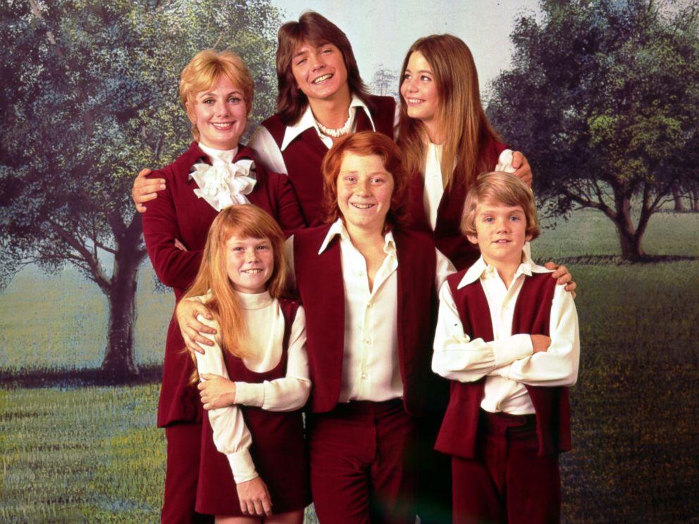 PHOTO: The Partridge Family poses for a photo circa 1970.
