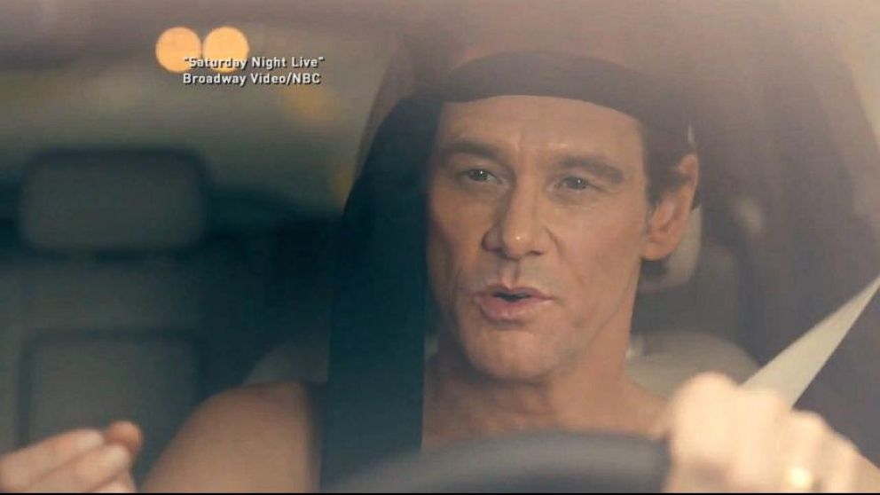 video jim carrey channels matthew mcconaughey in snl lincoln ad spoof abc news. Black Bedroom Furniture Sets. Home Design Ideas