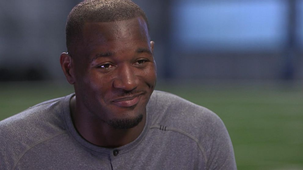Solar For America >> Derrick Coleman Hopes to Inspire Kids to Overcome ...