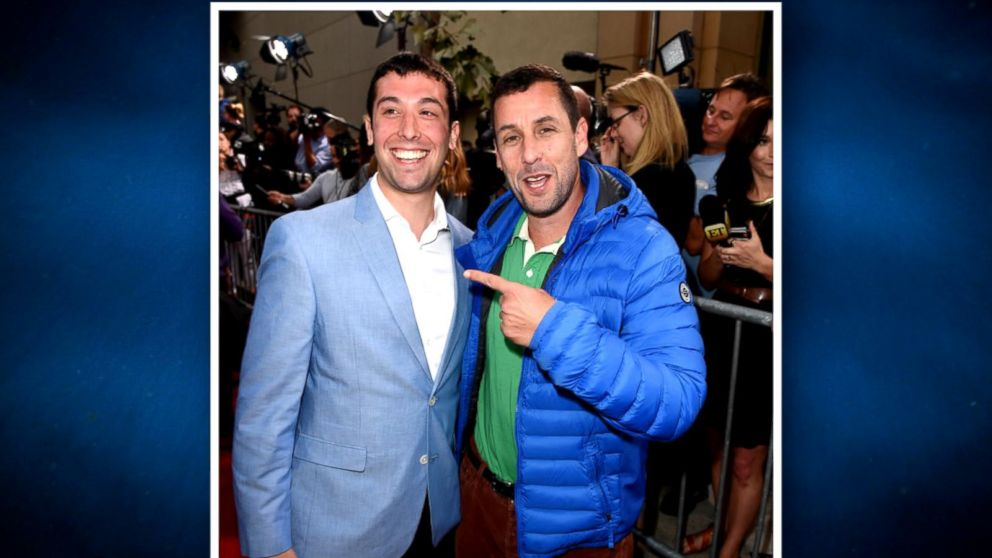 Adam Sandler Meets Real Life Doppelganger On Red Carpet