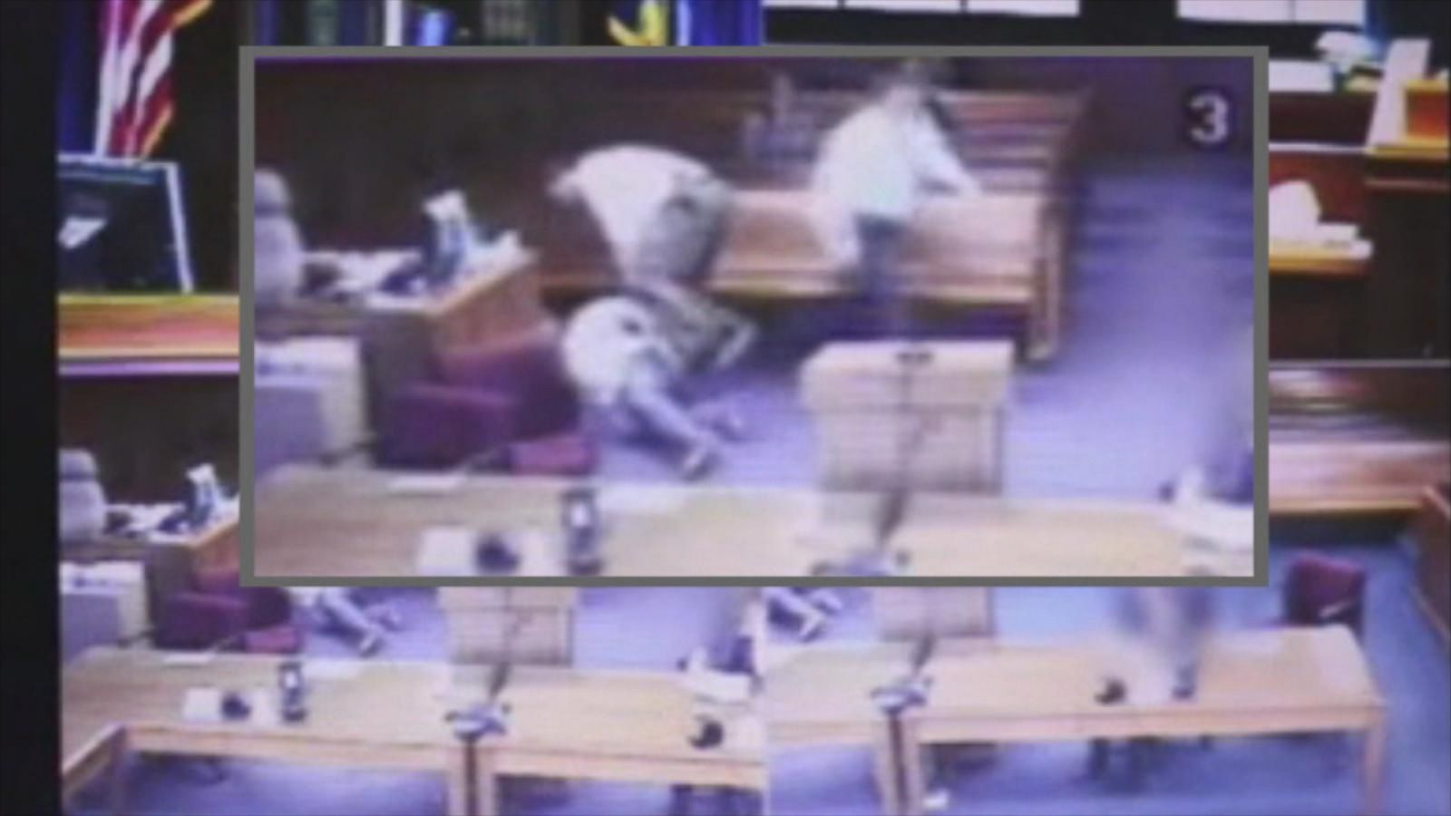 Video Shows Judge Remove Robe, Leave Bench to Tackle ...