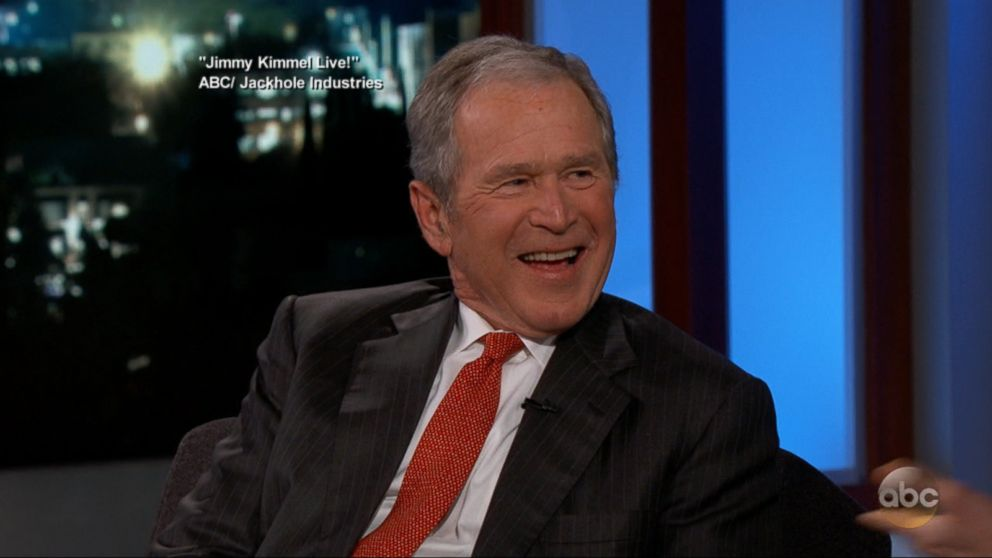George W. Bush tells Jimmy Kimmel: 'The best humor is when you make fun of yourself' Video - ABC ...