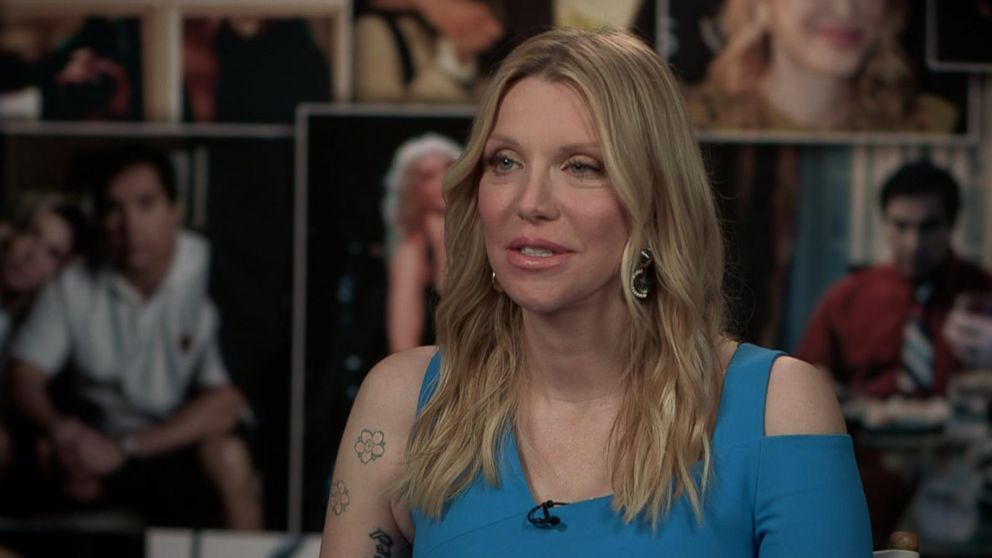 Courtney Love Porn - Courtney Love talks Menendez brothers movie role, bond with daughter  Frances Bean