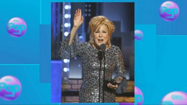 Bette Midler steals the show with Tonys acceptance speech