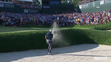 Jordan Spieth wins tournament with dramatic shot