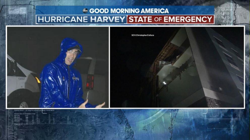 1d689ed304498a Reports of power lines down as storm surge hits Texas Video (2.52 7)