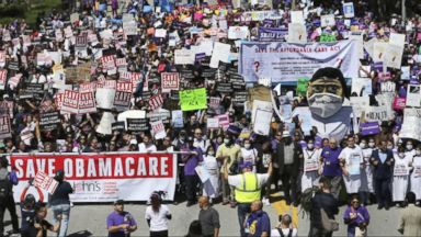 Fallout from Trump's decision to stop Obamacare