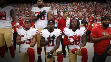NFL players, team owners meet amid anthem controversy