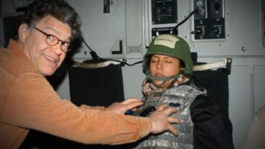 Al Franken apologizes after radio anchor says he forcibly kissed her, took lewd photo