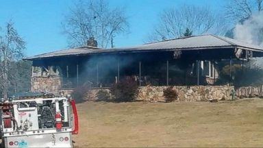 Arson investigators look into fire that destroyed home of Roy Moore accuser