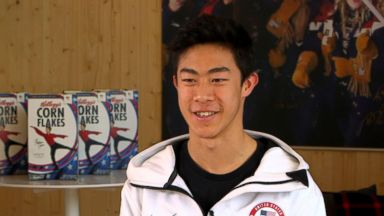 Olympians Nathan Chen and Nick Goepper share favorite moments