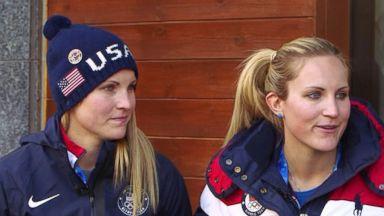 Twin sisters help US women's hockey team win Olympic gold