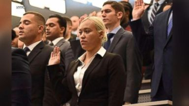 9/11 hero's daughter sworn into NYPD