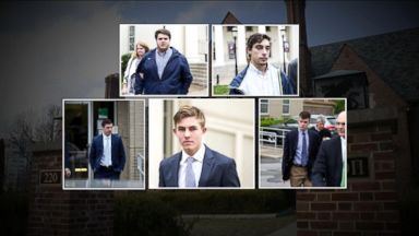 Fraternity members accused of hazing return to court