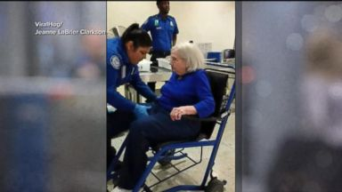 TSA under fire after patdown of elderly woman caught on tape