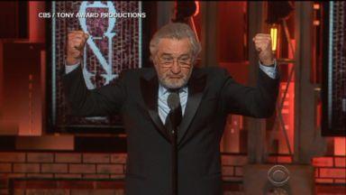 Robert De Niro delivers anti-Trump tirade at Tony Awards