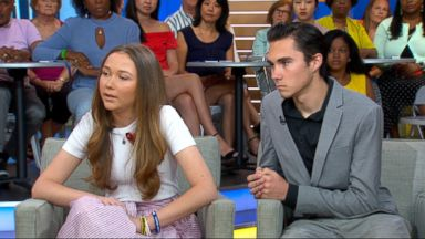 David and Lauren Hogg talk about becoming activists
