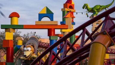 Check out this ride at the brand new Toy Story Land