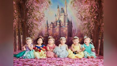 Baby Disney princesses reunite for seriously epic cake smash