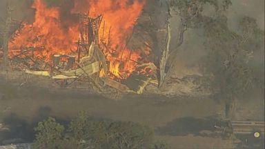 Wildfires spread in Oregon, California