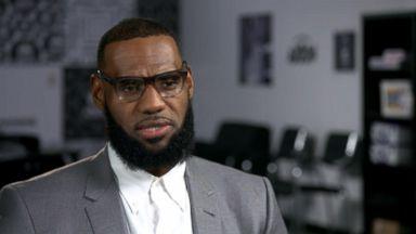 LeBron James says sports should bring people together