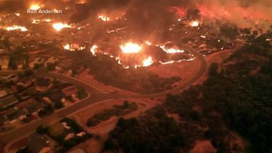 Deadly California fire forcing more residents to flee homes