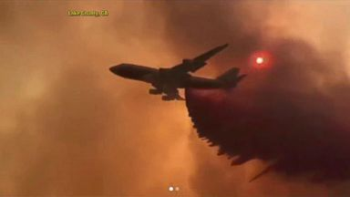 Dangerous heat and wildfires rage on