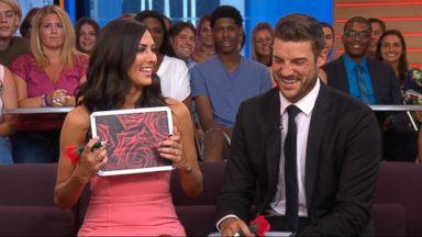 'Bachelorette' Becca and Garrett play the 'GMA' Newlywed Game