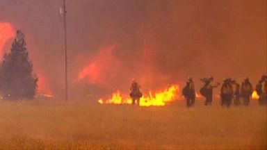 Fire grows to largest in California history