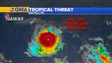 Hurricane Hector heads toward Hawaii