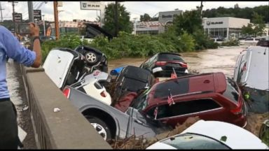 Torrential rain, flooding across the country prompts water rescues