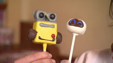 Here's how some of the cutest cake pops at Disneyland are made