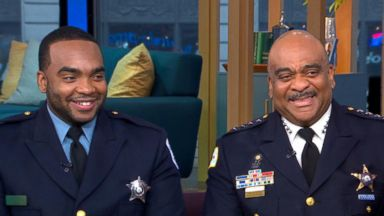 Unbreakable bond between police officer and his son