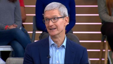 Tim Cook opens up about what's next for Apple, live on 'GMA'