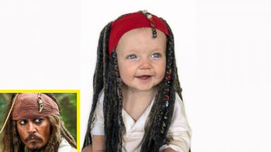 Dad dressing his toddler son in Disney characters is your pre-Halloween dose of cuteness