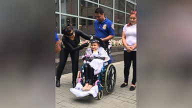 9-year-old battling cancer gets to be NYPD chief officer for a day