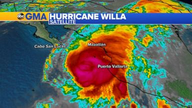Hurricane Willa set to make landfall in Mexico as Cat 4