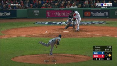 Red Sox beat Dodgers in Game 1 of World Series