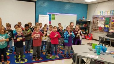 Students learn sign language for beloved janitor